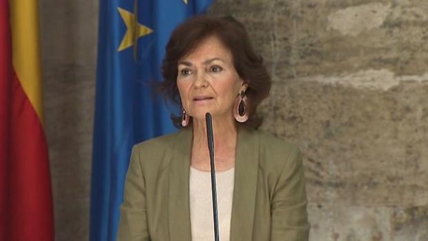 Carmen Calvo: «El debate de la gestación subrogada no se puede reducir a cuatro eslóganes»