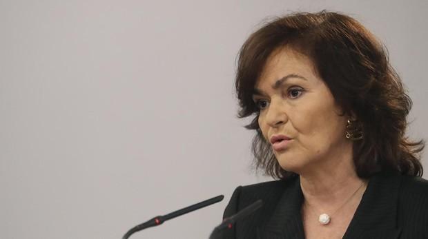 La ministra de Igualdad Camen Calvo