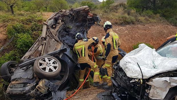 Un accidente ocurrido el pasado 11 de julio en la A-1503, entre los municipios zaragozanos de El Frasno y Sabiñán. En el siniestro dos personas resultaron muertas y otras dos personas resultaron heridas de gravedad