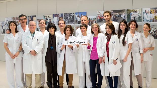 Un grupo de profesionales del Hospital Nacional de Parapléjicos promueven la prevención de lesiones medulares por caídas
