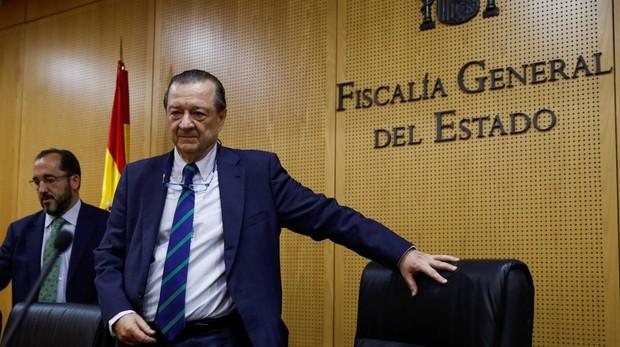 El fiscal general del Estado, Bartolomé Vargas, ha ofrecido una rueda de prensa para analizar la siniestralidad vial