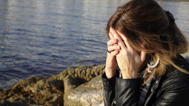 Imagen de una mujer víctima de una violación