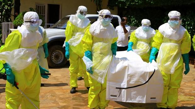 Trajes de prevención contra el virus del ébola