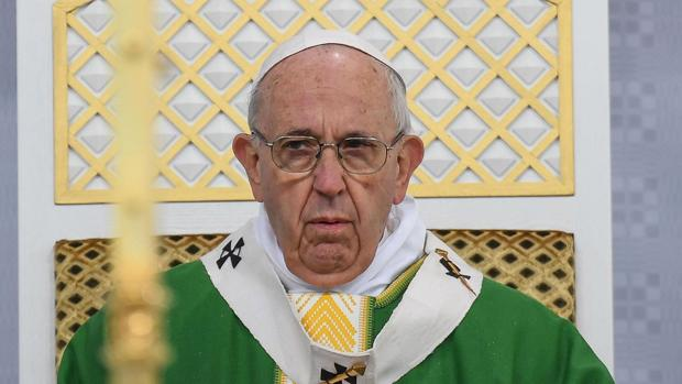 El Papa Francisco, en Kaunas (Lituania)