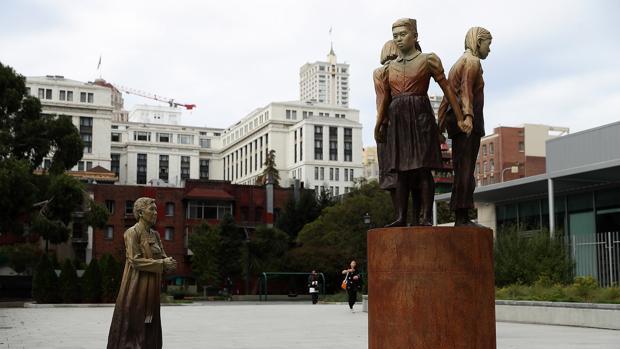 La estatua que ha desatado la ruptura del hermanamiento