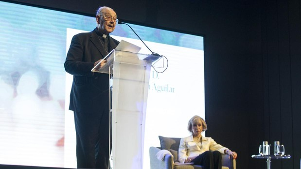 Monseñor Fernando Sebastián inauguró ayer el Congreso