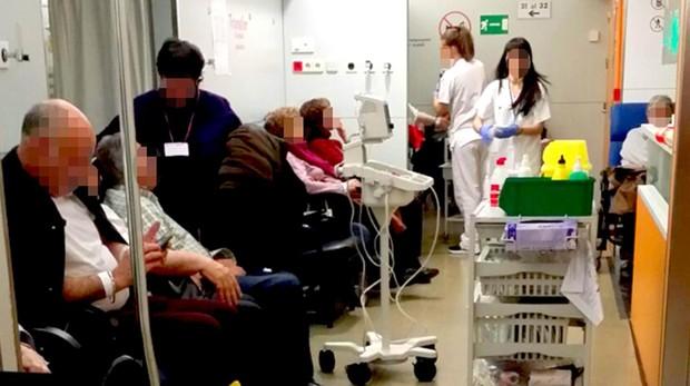 Sala de urgencias de un hospital público