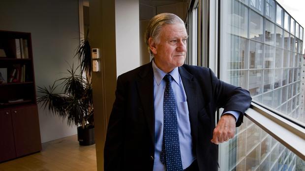 El cardiólogo Valentín Fuster, en su despacho del Centro Nacional de Investigaciones Cardiovasculares