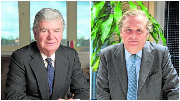 Santiago Bergareche e Ignacio Ybarra