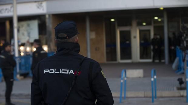 Agentes de la Policía en Mallorca