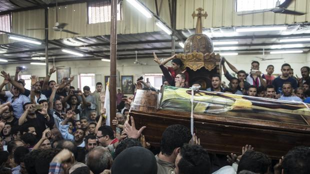 En mayo de 2017 murieron 26 personas por tiroteo contra un autobús de cristianos coptos en Egipto