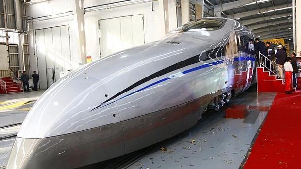 Tren «bala» capaz de alcanzar los 500 kilómetros por hora