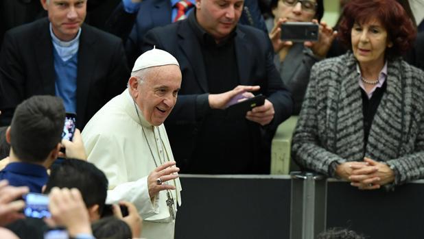 El Papa ha hecho propia «la esperanza de paz de los niños de Siria, martirizada por una guerra que dura ya ocho años»