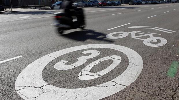 Madrid redujo la velocidad máxima a 30 km/h en el 85% de las vías
