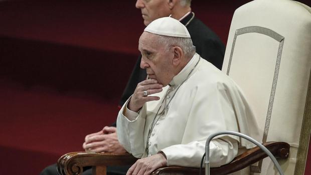 Imagen de archivo del Papa Francisco