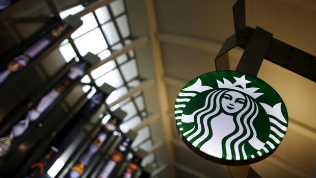 Imagen de archivo de una cafetería Starbucks