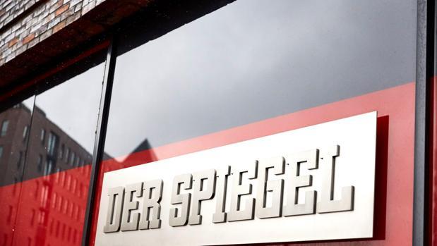 Imagen de archivo que muestra un cartel con el nombre de la revista alemana «Der Spiegel»'