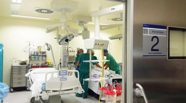 Quirófano del hospital Can Misses