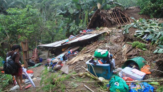 Resultado de imagen para Al menos 68 muertos y varios afectados en Filipinas por la tormenta Usman