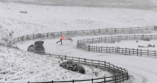 Tres cuartas partes de EE.UU. se congelan en una ola de frío histórica