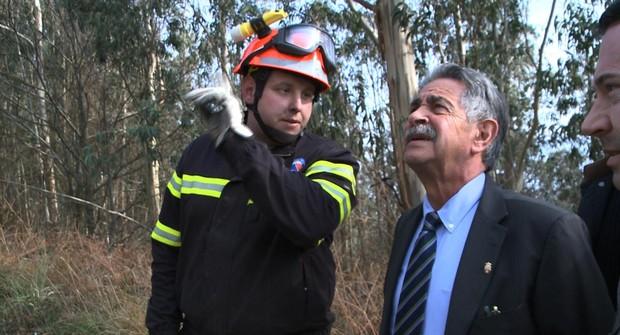 No es la primera vez que un «empleado» del monte lo quema con fines inicuos
