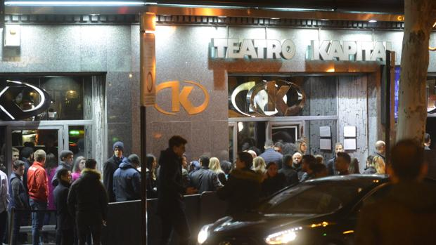 La discoteca Kapital en Madrid