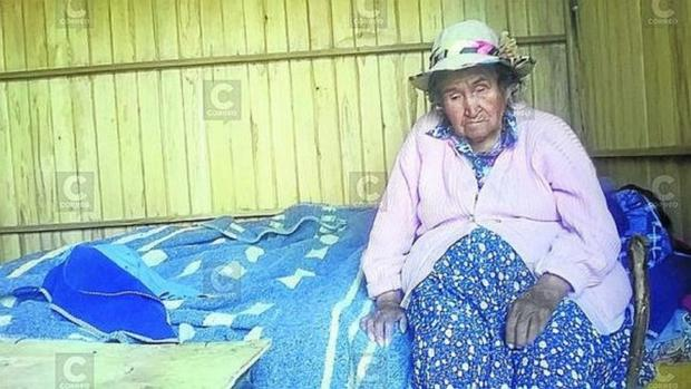 La peruana Andrea Gutiérrez Cahuana, de 122 años