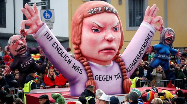 Los ambientalistas adolescentes toman las calles