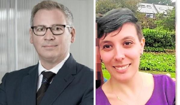 Jordi Dalmau y Pilar Martínez