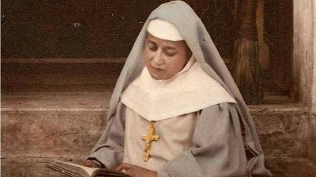 La monja María Emilia Riquelme