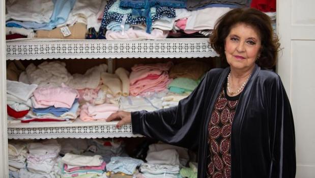 Rosa Ciriquián es la presidenta de Asdevi Sevilla, una asociación pro vida