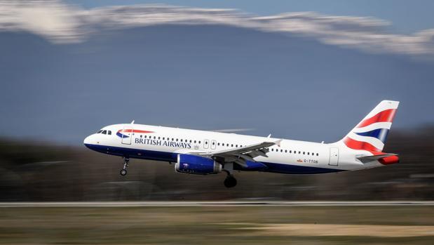 Un avión de la compañía British Airways