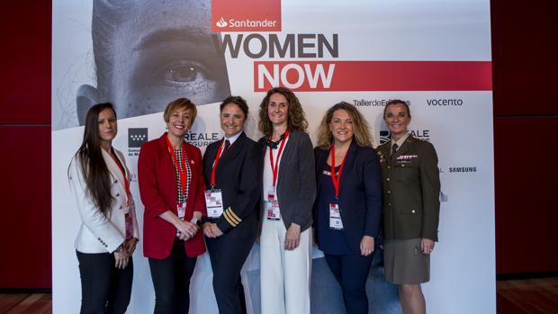 Joana Pastrana, Marisol Soengas, Vanessa de Velasco, Gabriela Uriarte, Sonia Sánchez y Ana Betegón