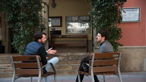 Q. F. F. e Ignacio Díaz, dos profesores de Religión de Cataluña