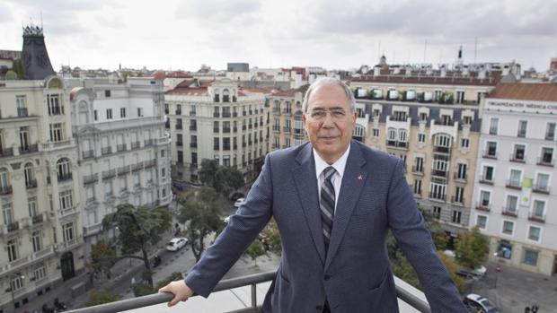 Roberto Fernández Díez, presidente de los rectores españoles