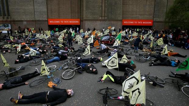 Protestas de Extinction Rebellion en Londres