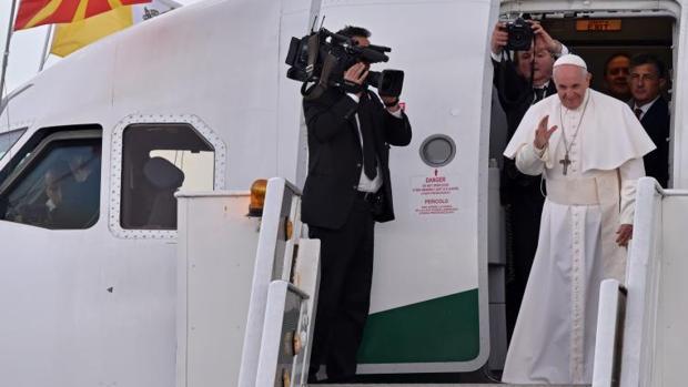 El Papa Francisco se despide en Skopje (Macedonia del Norte)