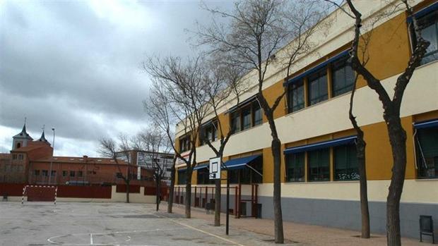Imagen de arcivo del patio de un colegio