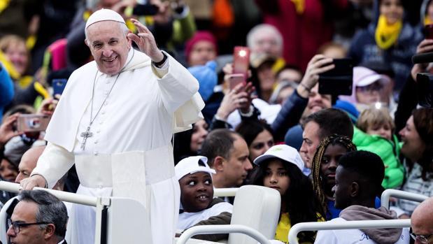 El Santo Padre ha dedicado también un saludo especial a los peregrinos de la diócesis de Córdoba y a los ciclistas del Hospital Bambino Gesú,