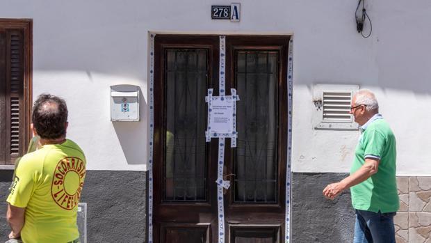 Vivienda en la que fue hallado el cuerpo sin vida de Gloria Francisca
