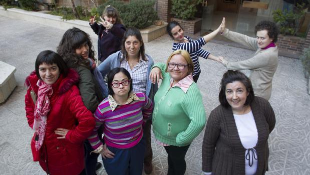 Reunión de mujeres con discapacidad