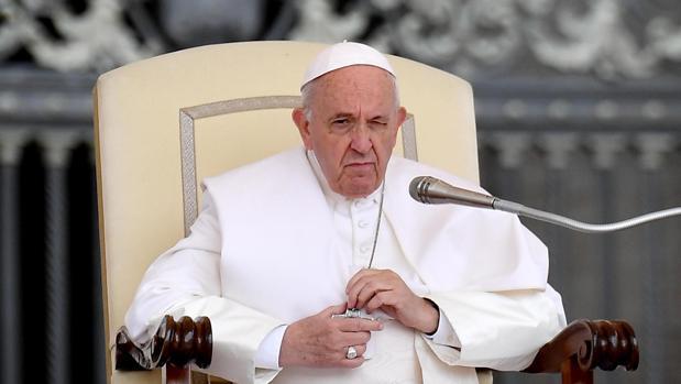 El Papa Francisco en la Audiencia General del pasado miércoles