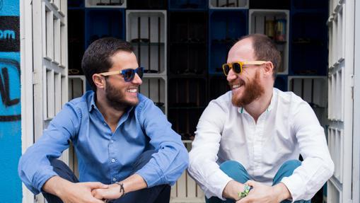 Alfonso de Luján y Samuel Soria, creadores de Parafina