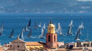 Regata en el Golfo de Saint-Tropez