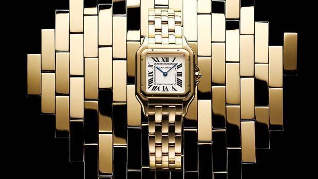 Relojes cartier de oro para hombre