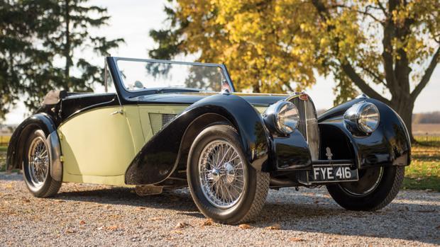 El Bugatti de 1937 que ha batido récord de precio