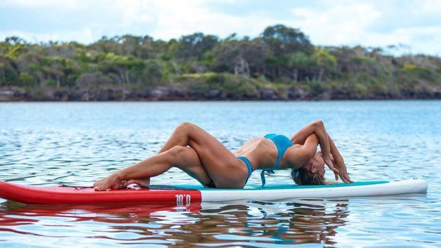 SUP Yoga: La última tendencia fit de California