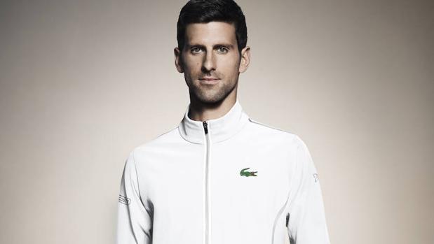 Novak Djokovic presentó su alianza con Lacoste en el día de su cumpleaños