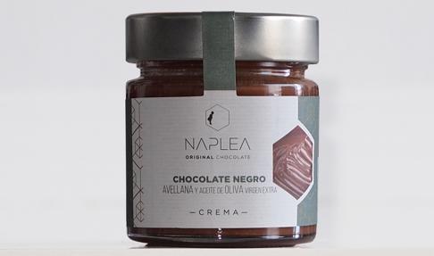 Crema de chocolate negro para untar