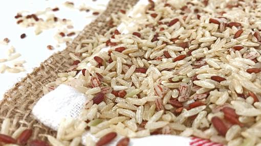 Granos de arroz java